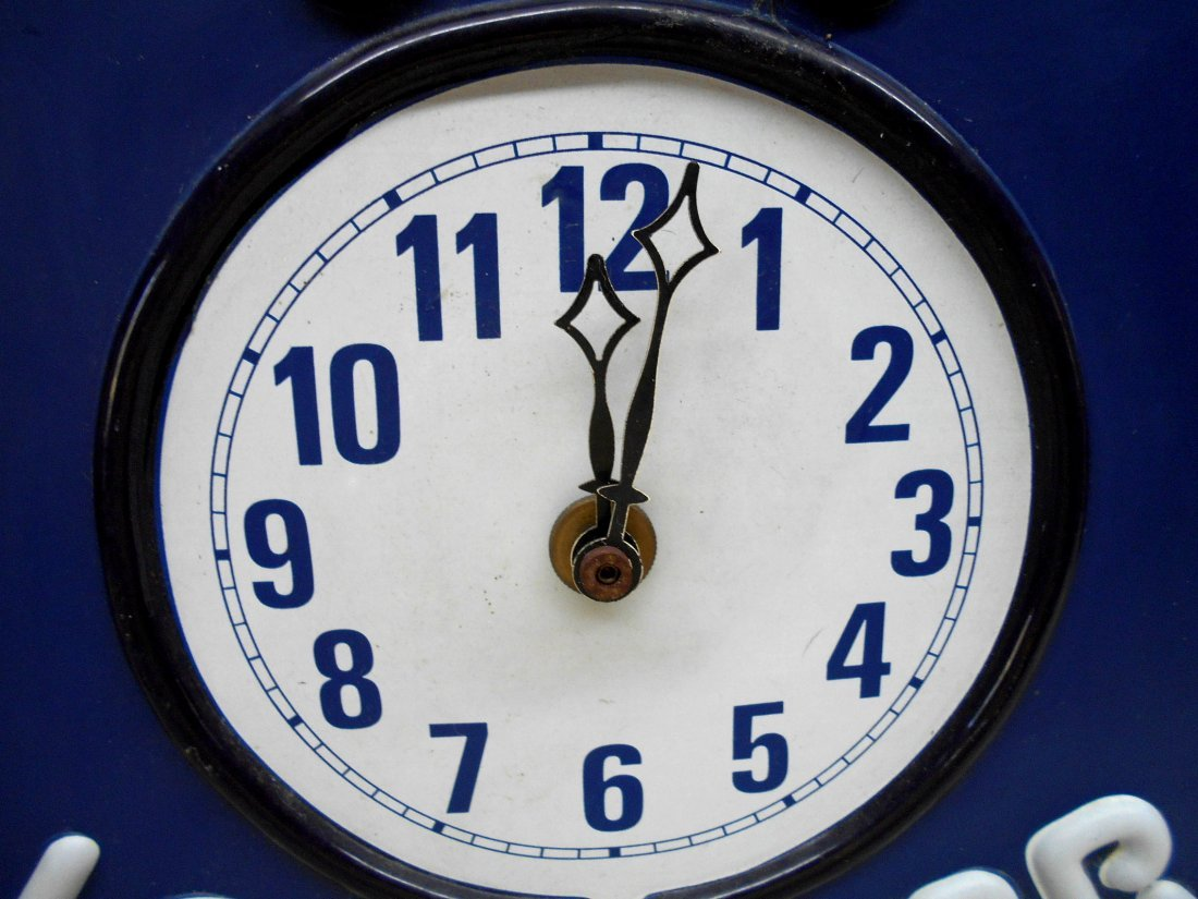 LONE STAR BEER Clock - 4