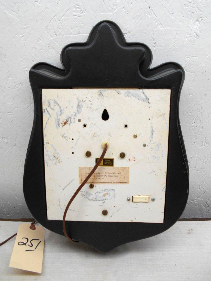 LONE STAR BEER Clock - 7