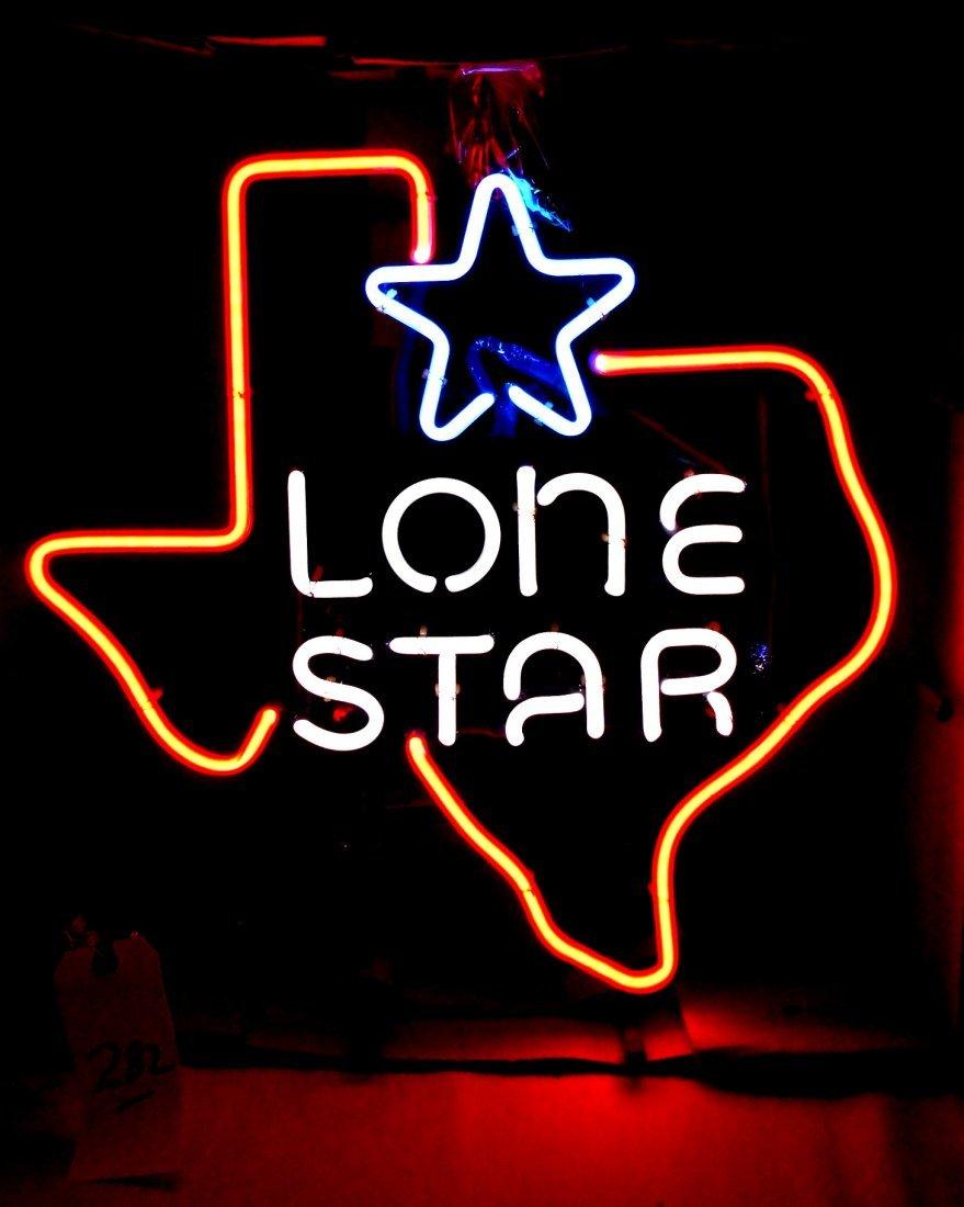 LONESTAR BEER Neon Sign