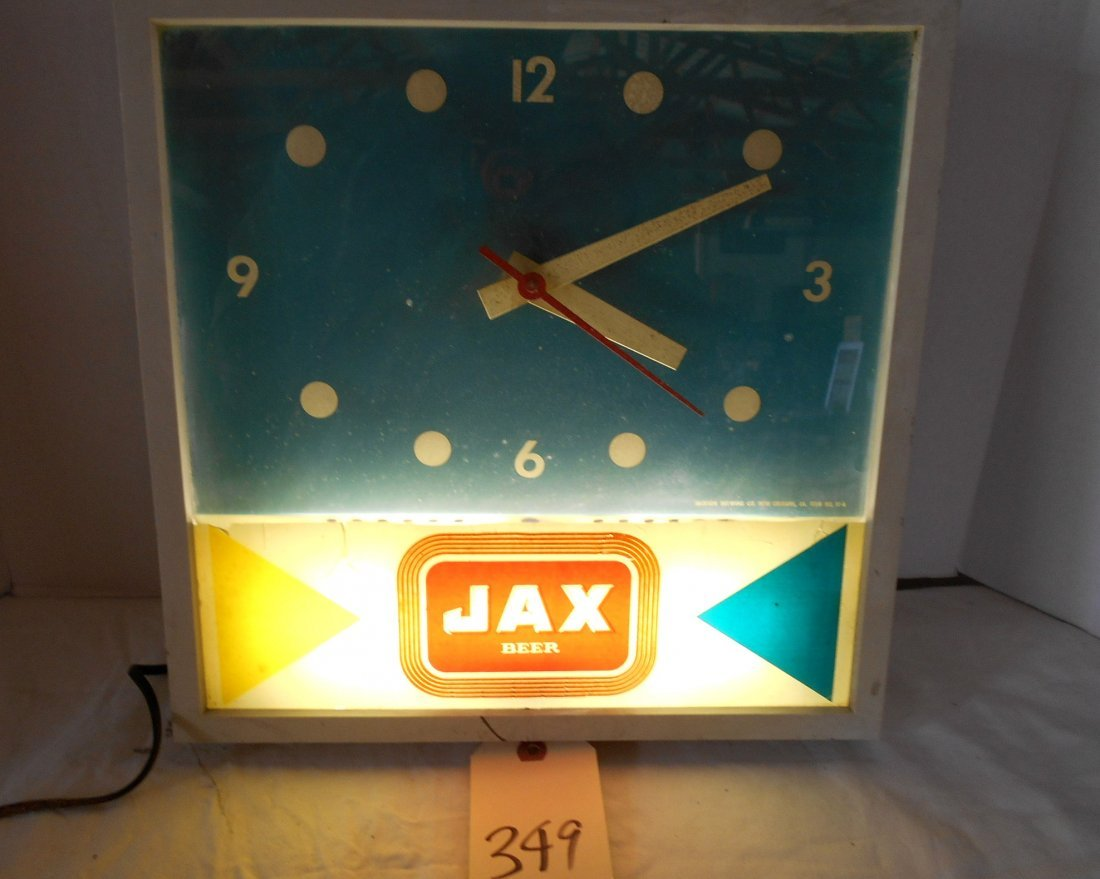 JAX BEER Clock