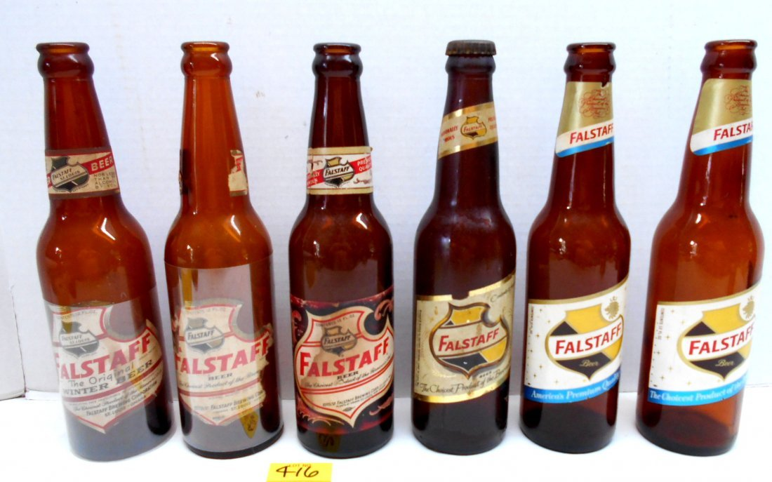 FALSTAFF BEER Brown Bottles