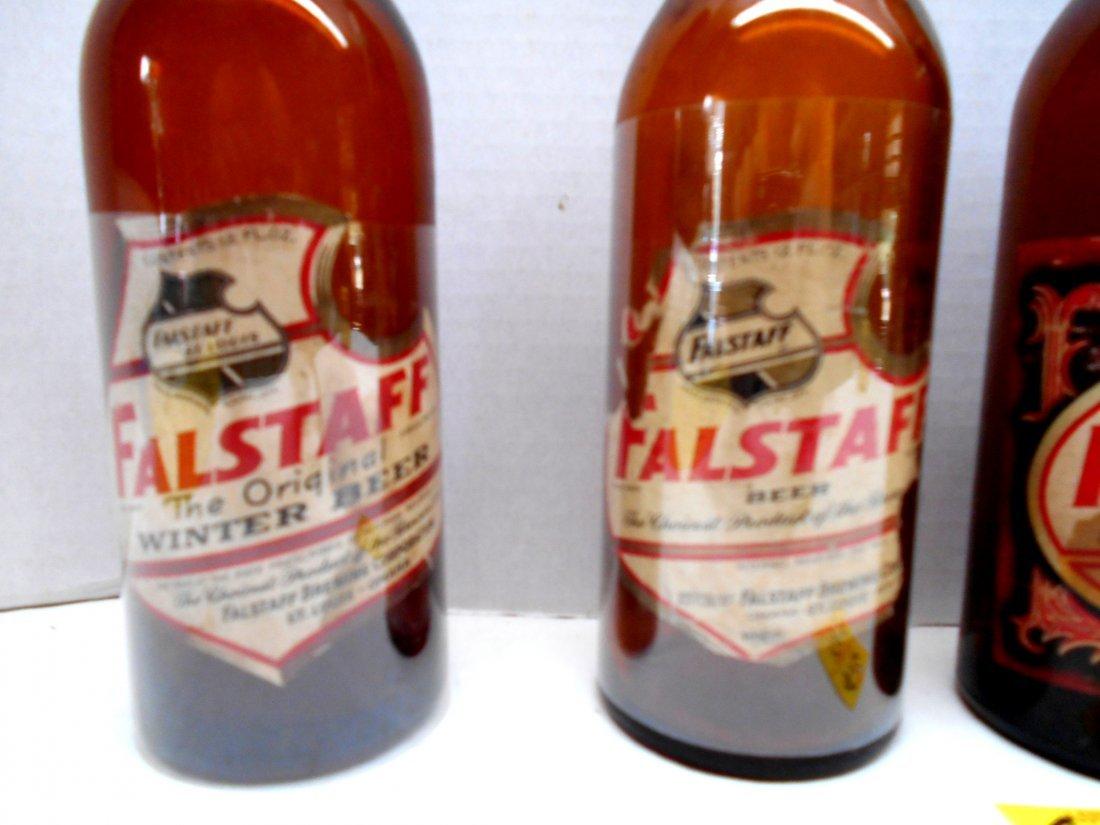 FALSTAFF BEER Brown Bottles - 2