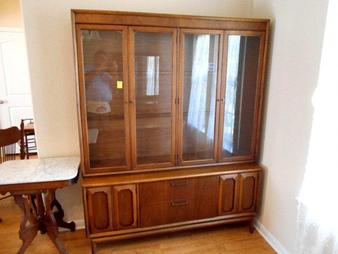 Vintage Mid Century China Cabinet - Furniture
