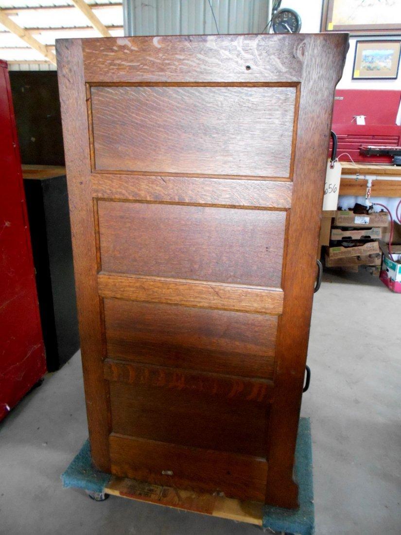 Antique Wooden File Cabinet - 2