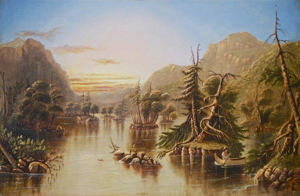 American School  Adirondack Landscape