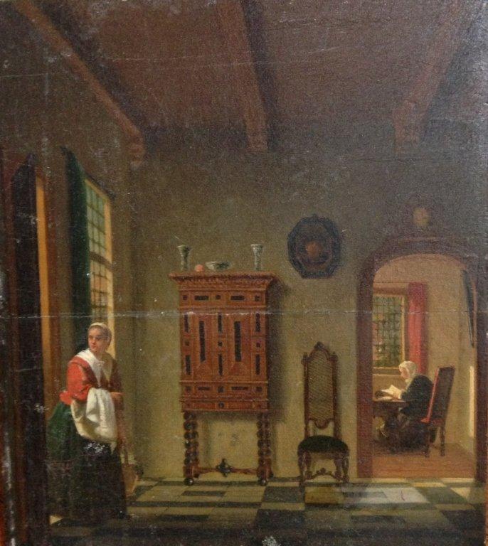 Belgium School 19th Century, Genre Painting