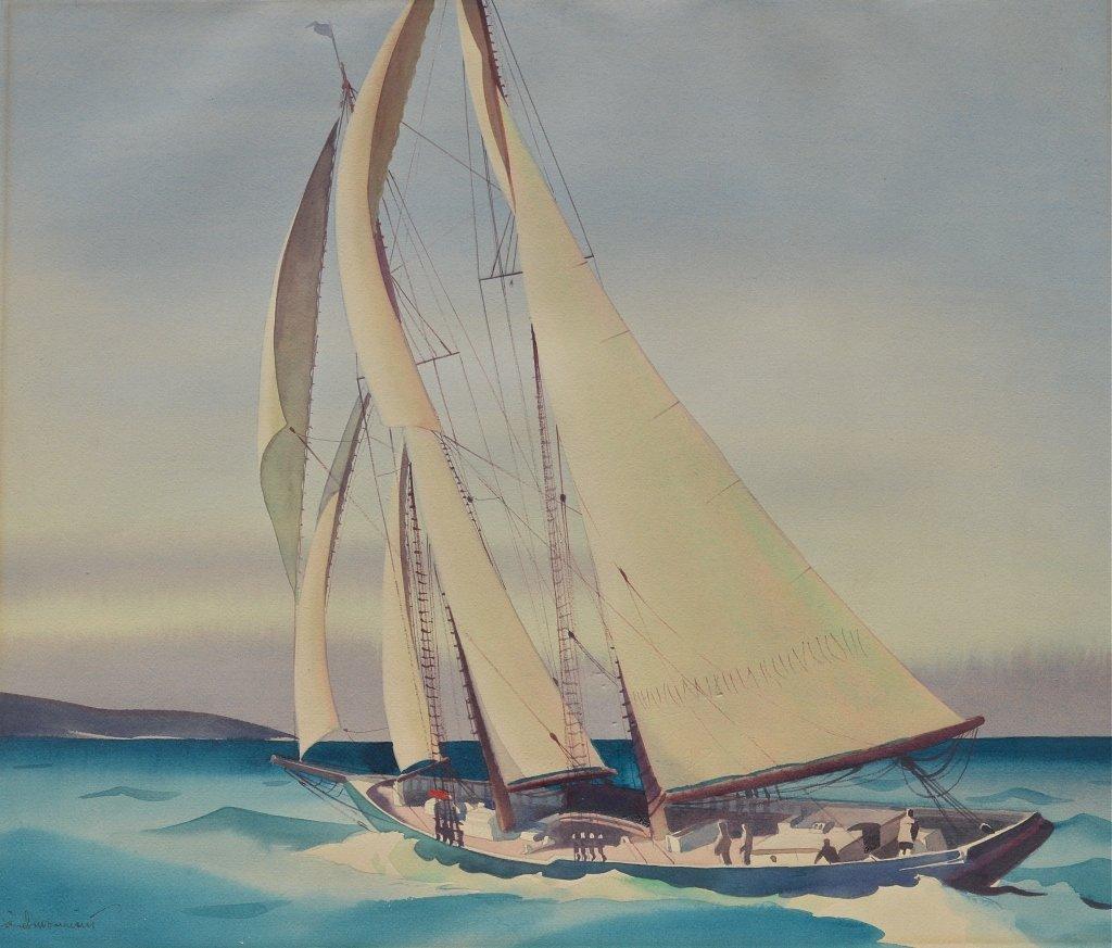 Sandor Bernath, watercolor