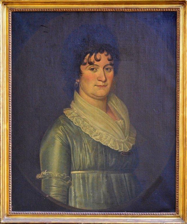 Portrait Attributed to William Jennys