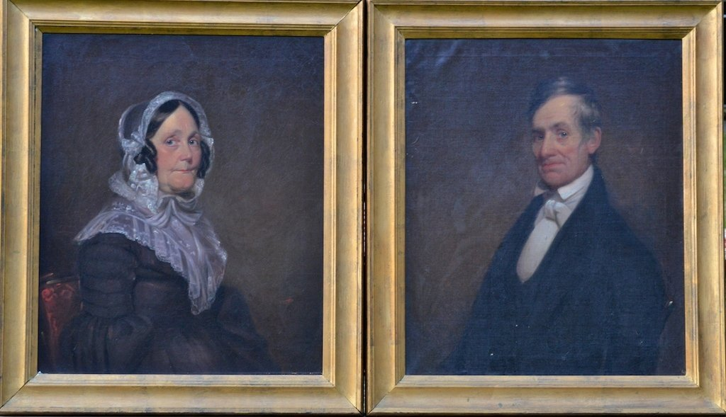 Pair of American School Portraits