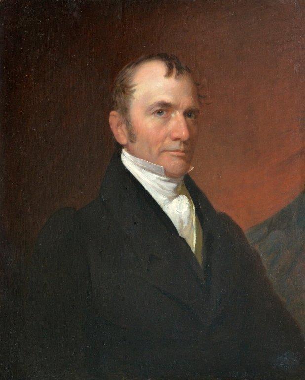Portrait of John D. Dickinson attr. to Fenderich