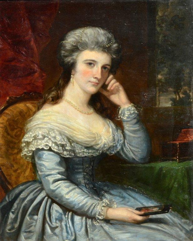 Daniel Huntington - Portrait of a Lady