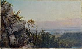 View from the Berkshires Attributed to Smillie