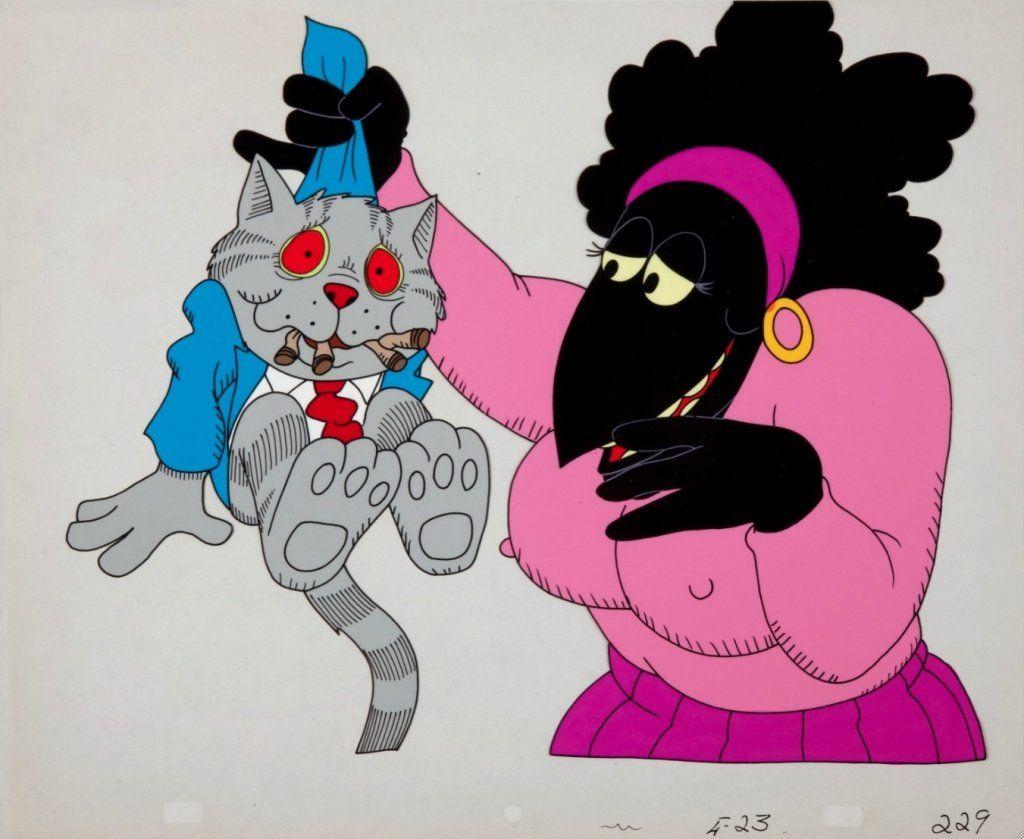 Ralph Bakshi, Fritz the Cat (lot of 3) after Crumb