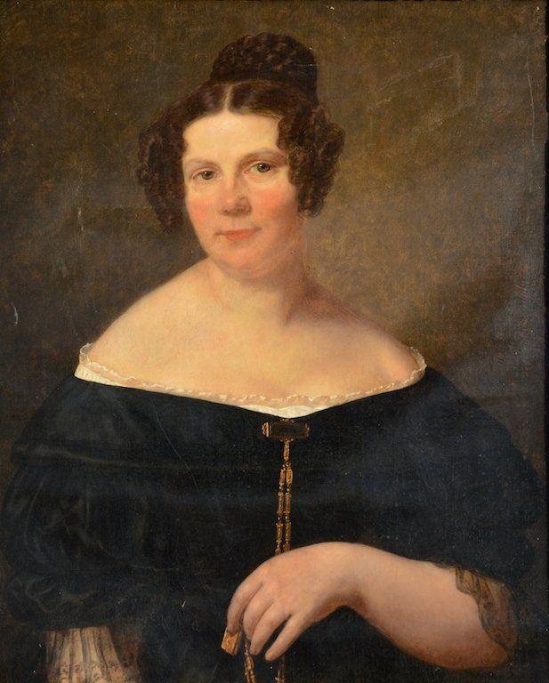 French School Portrait of Caroline Chevalier