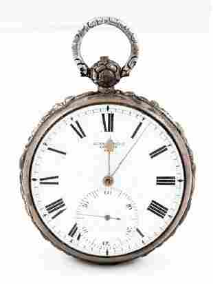 POCKET CHRONOMETER, ENGRAVED HENRY BLACKWOOD John