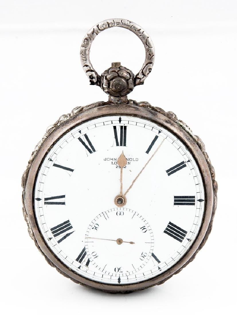 POCKET CHRONOMETER, ENGRAVED HENRY BLACKWOOD John