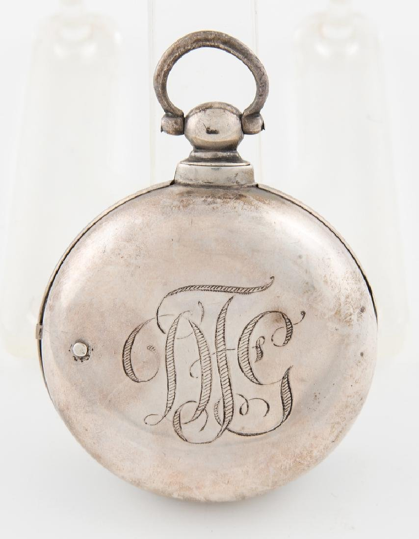 ENGLISH POCKET WATCH, ENGRAVED D.G. FARRAGUT Unknown - 2