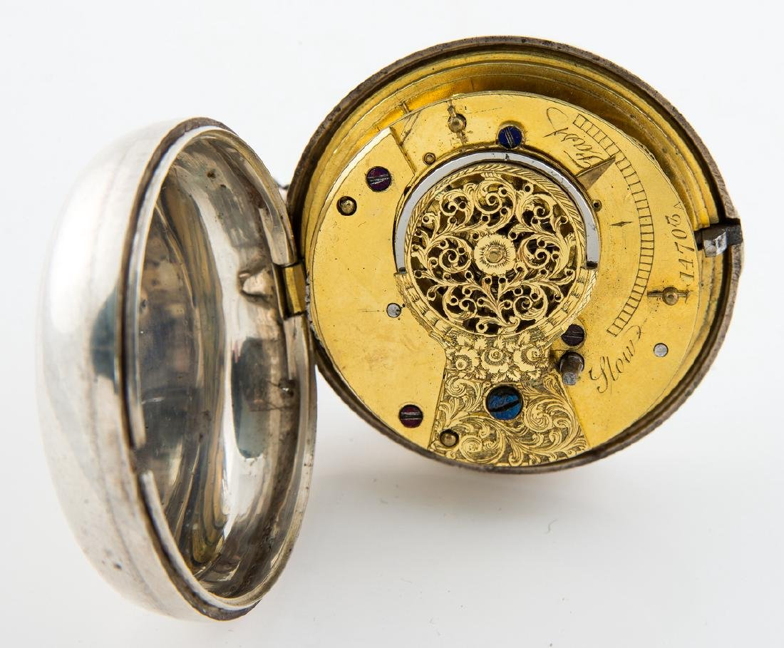 ENGLISH POCKET WATCH, ENGRAVED D.G. FARRAGUT Unknown - 4