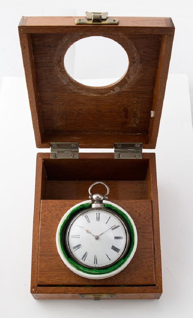 ENGLISH POCKET WATCH, ENGRAVED D.G. FARRAGUT Unknown - 8