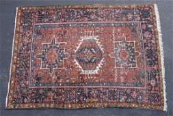 PERSIAN KARAJAH AREA RUG Semi-antique, c. 1930, three
