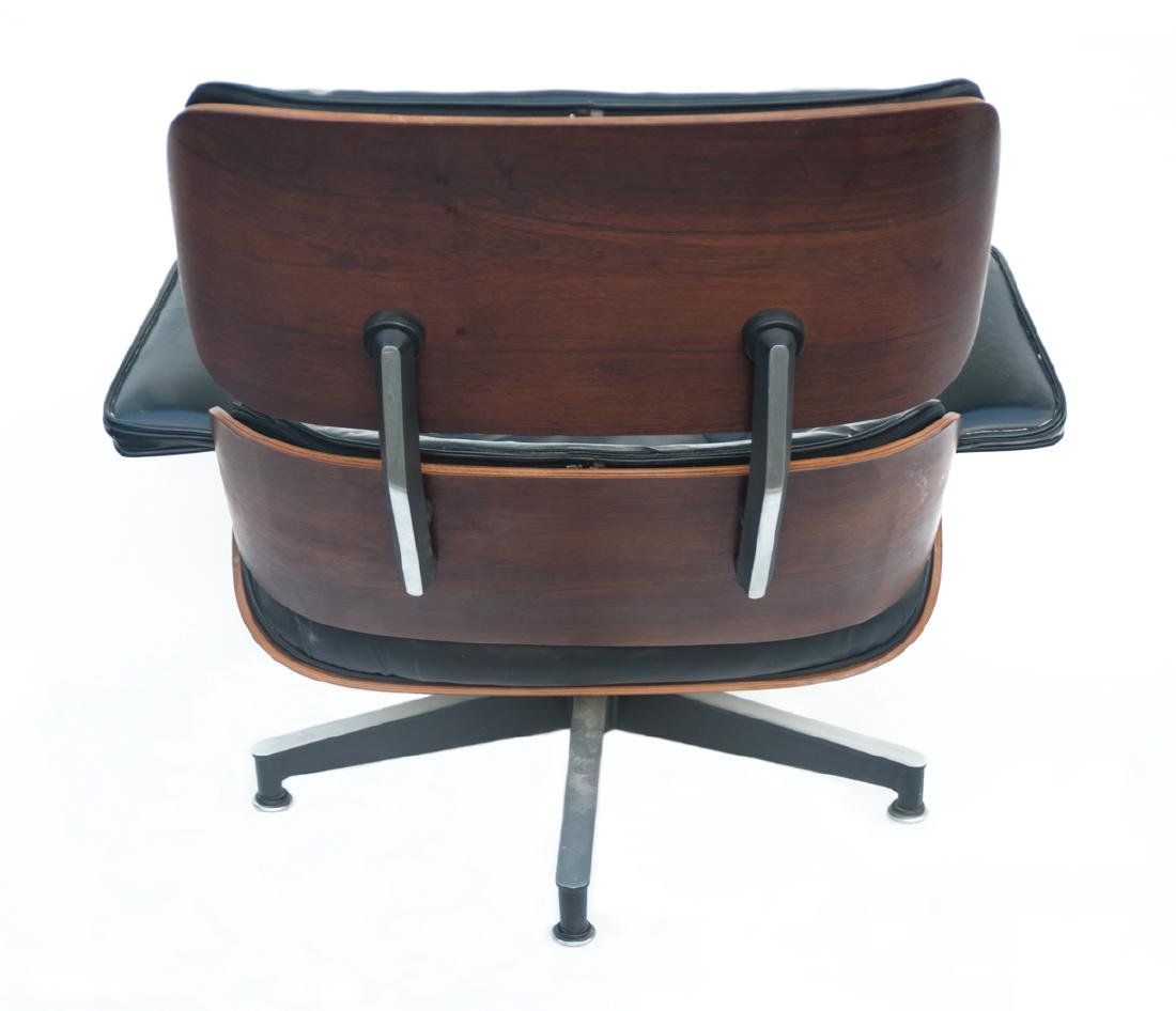 EAMES LOUNGE CHAIR AND OTTOMAN By Herman Miller, - 4