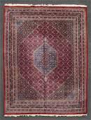 ROOMSIZE PERSIAN RUG Oriental rug cobalt blue diamond