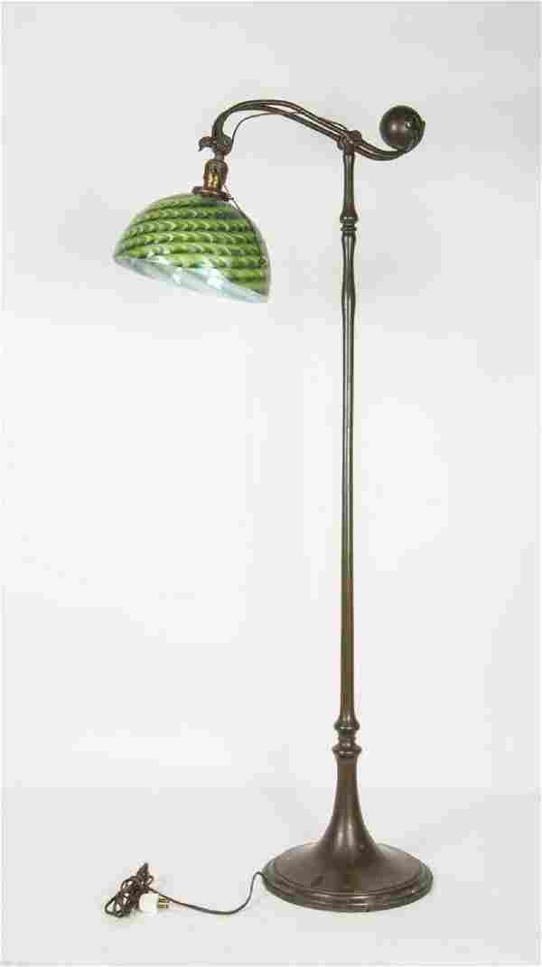"STANDING FLOOR LAMP ""Tiffany Studios, New York, - 676"","