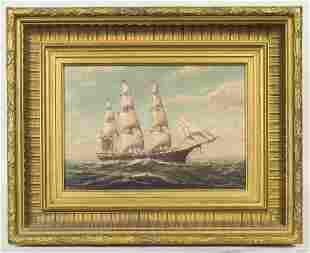 PAINTING BY WILLIAM PASKELL Oil on canvas board,