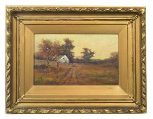 PAINTING BY LOUIS RICHARDSON Oil on board, Louis H.
