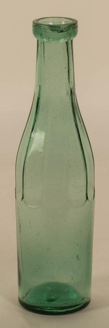 BLUEBERRY PRESERVE BOTTLE American, 19th c., in