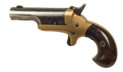 COLT DERRINGER PISTOL, .41 CAL. RIMFIRESingle shot