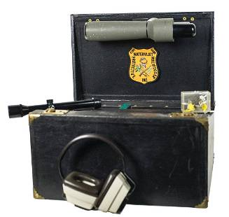 TARGET SHOOTING CASECase containing items for use in