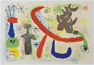 TWO OFFSET LITHOGRAPH PROGRAMSFrom Miro exhibitions,