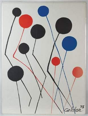 PRINT BY ALEXANDER CALDERCalder, Alexander (1898-1976),