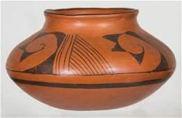 HOPI JARLow shouldered Pueblo jar, narrow neck, c.