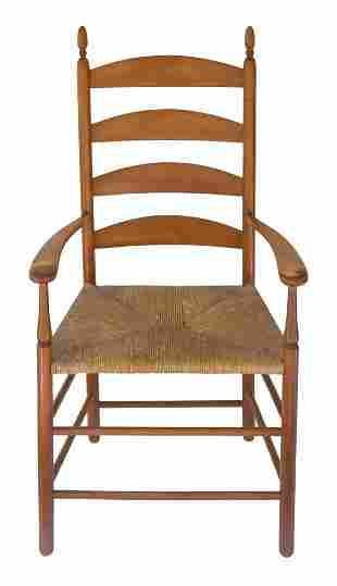 ARMCHAIR Maple, original high ochre stained varnish