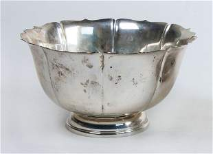 Sterling silver fruit bowls