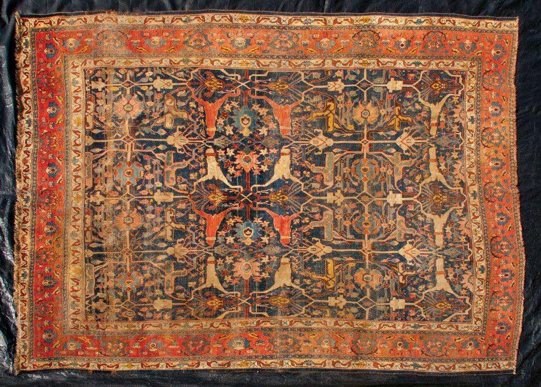 """Roomsize rug, 13' 6"""" x 11' 1"""""""