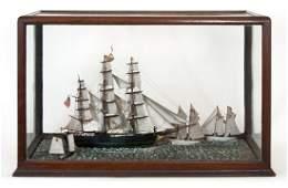 """Ship model """"Golden Eagle"""""""