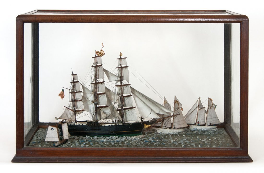 "Ship model ""Golden Eagle"""