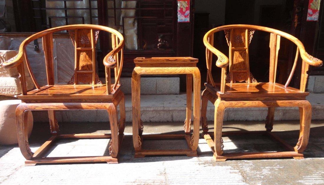 Chinese huang hua li palace chair
