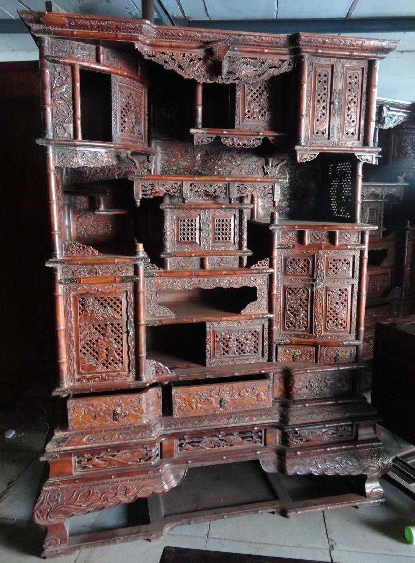 Qing Dynasty huanghuali shrines