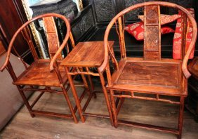China Huanghuali Bamboo Chair