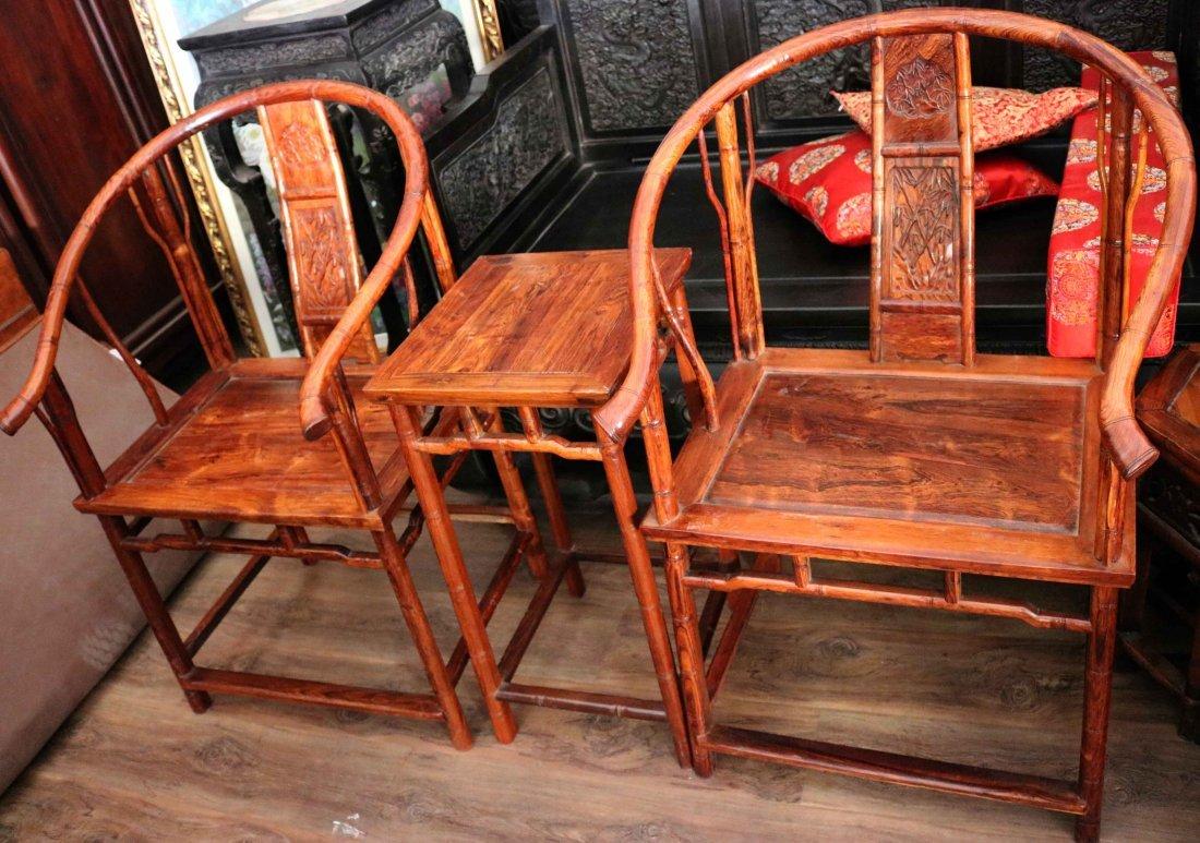 China huanghuali Bamboo chair