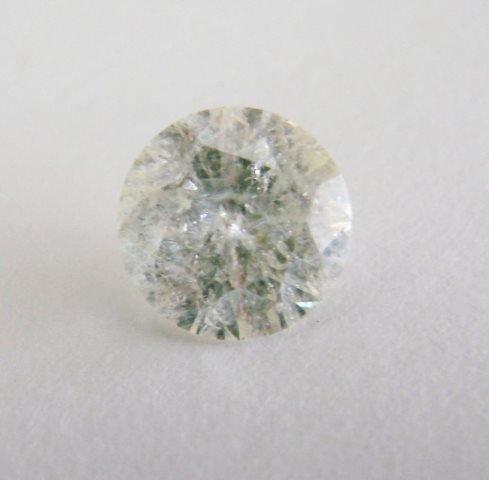 Loose Diamond Round Shape 2.11Ct