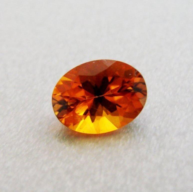 Natural Hessonite Garnet Oval Shape 1.11Ct 8x6.2x4.3 mm