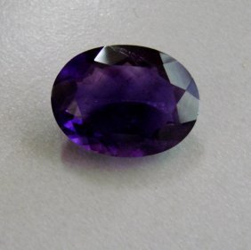 Natural Amethyst Oval 15.45ct 20x15x8.3 Mm