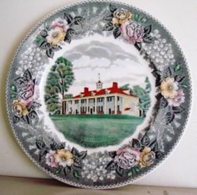 Old English Staffordshire Ware Potteries Plate 9.3/4""