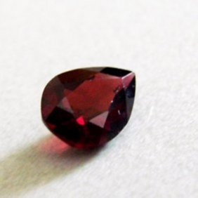 Natural Orange Red Garnet Pear Shape 2.37ct 10x7.2x4 Mm