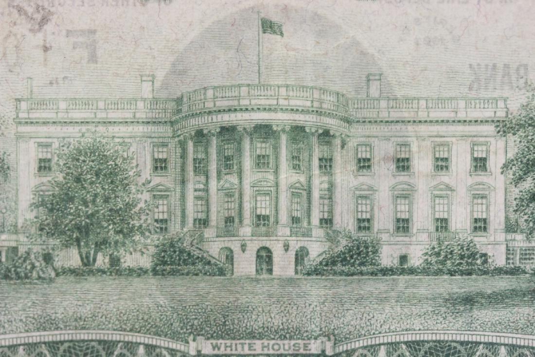 A $20.00 Atlanta, Georgia Federal Reserve Bank Note - - 4